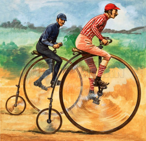 Once Upon a Time... Bicycles down the ages. The Penny Farthing